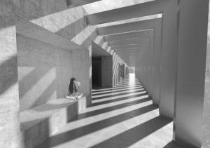 School Corridor - Anna Grenestedt