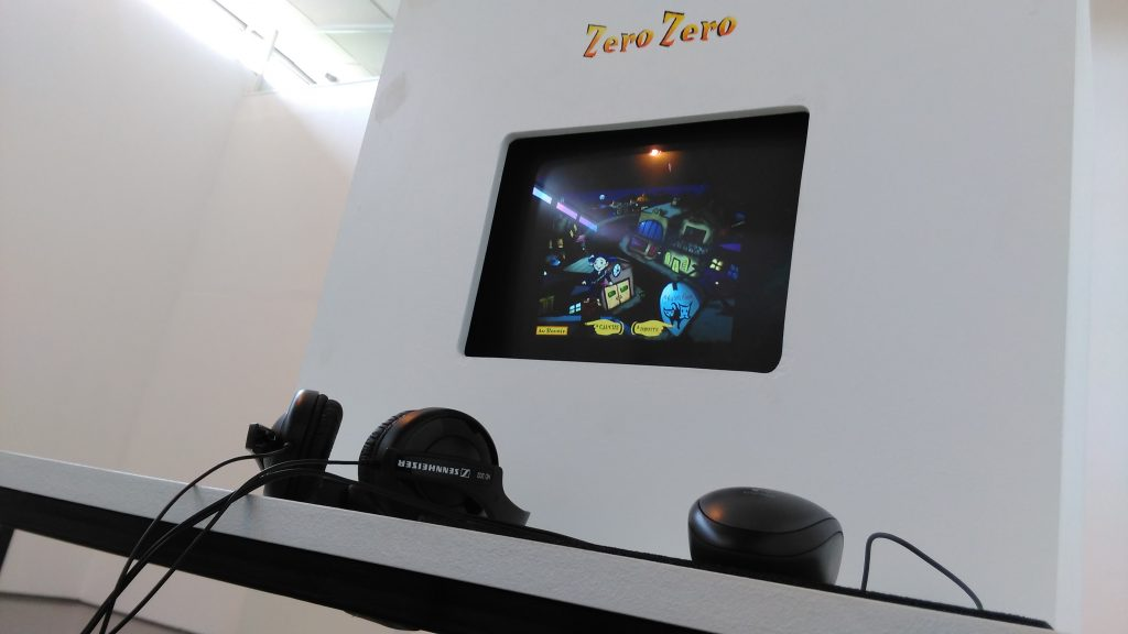 Duncan's Zero Zero, available to play as part of the exhibition.