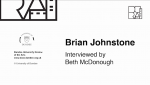 Featured image of An Interview with Brian Johnstone