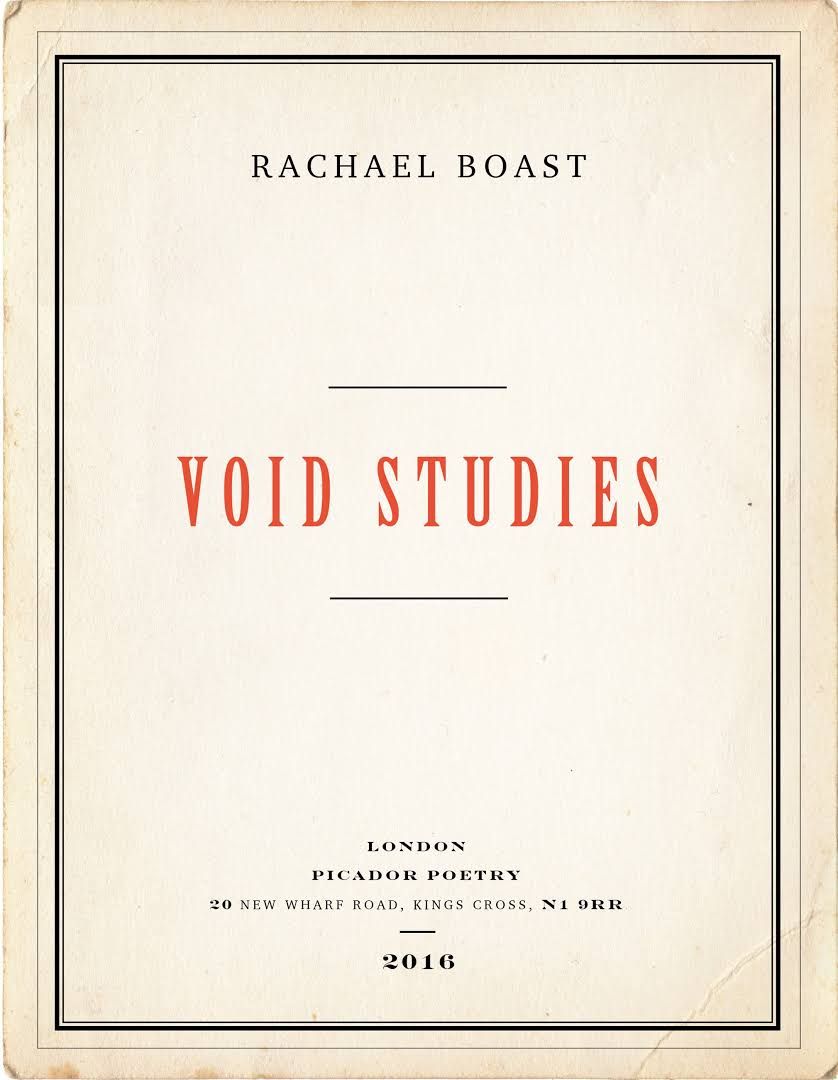 Featured image of Void Studies (Shortlisted, 2016 T E Eliot Poetry Prize)
