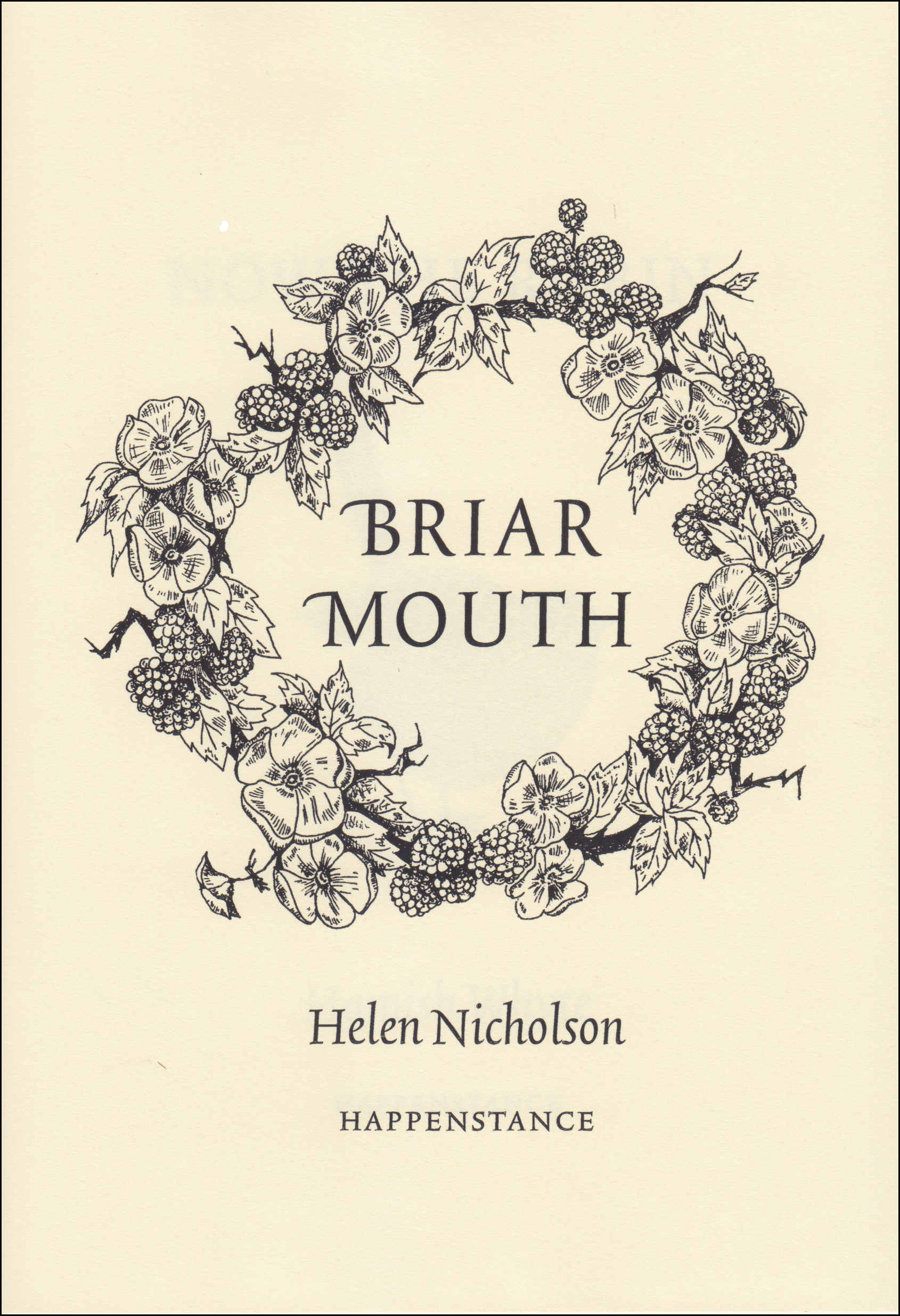 Featured image of BRIAR MOUTH