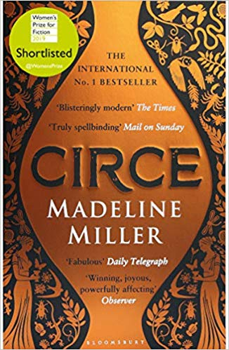 Featured image of Circe (Shortlisted, 2019 Women's prize for fiction)
